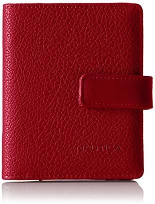 Nautica Women's Plain Sailing RFID Deluxe Passport Travel Wallet