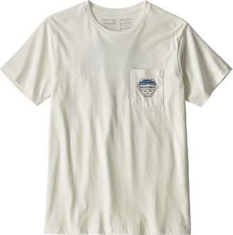 Patagonia Fitz Roy Hex Organic Pocket T-Shirt - Men's