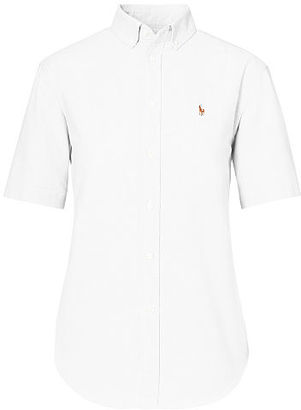 Polo Ralph Lauren Relaxed-Fit Oxford Shirt $85 thestylecure.com