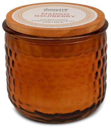 Vineyard Hill Naturals Container Candle Mango Gojiberry 9oz - Vineyard Hill Naturals by Paddywax