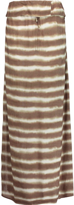 Vix Cleo printed jersey maxi skirt $146 thestylecure.com