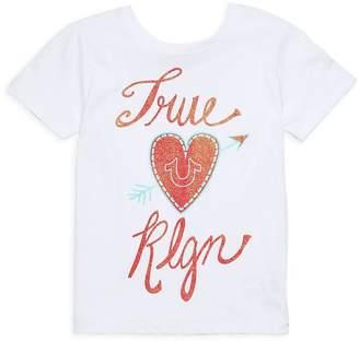 True Religion Girl's True HS Cotton Tee