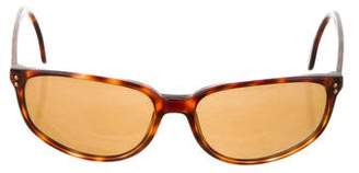Giorgio Armani Tortoiseshell Logo Sunglasses