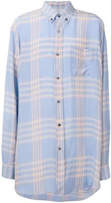 Marni oversized plaid shirt