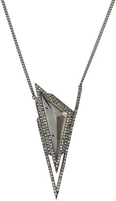 Alexis Bittar Pendant Necklace with Crystals
