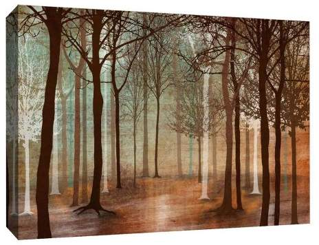 Invisible Trees Decorative Canvas Wall Art 11