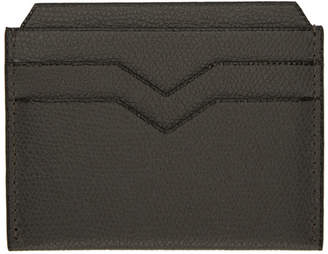Valextra Grey 4CC Card Holder