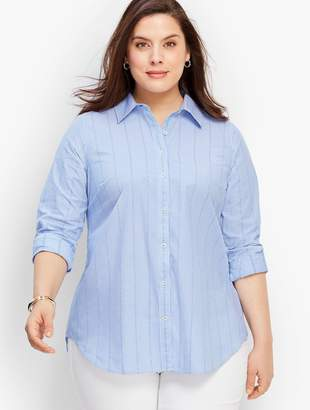 524416ef86 Talbots The Classic Casual Shirt - Empire Dot Stripes