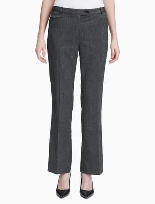 Calvin Klein herringbone modern fit pants
