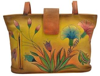 Anuschka Hand-Painted Leather Medium Tote