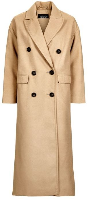 TopshopTopshop Double breasted slouch coat