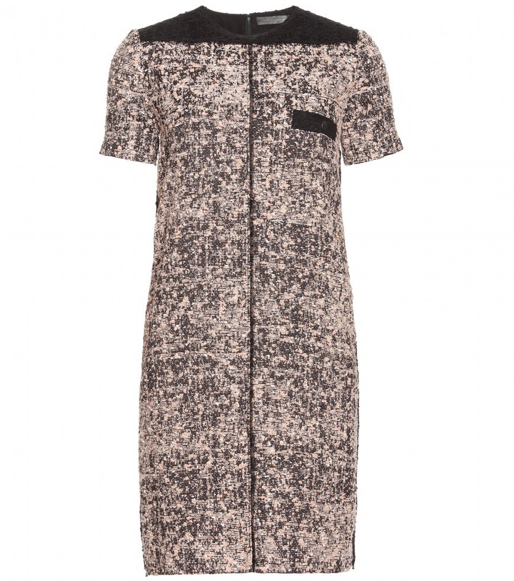Proenza Schouler PANELED TWEED DRESS