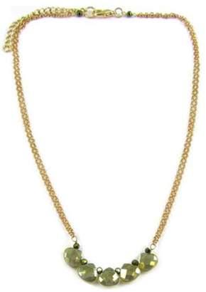 Ananda Golden Brass Necklace