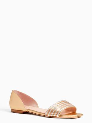 d0c1ec924ac7 Kate Spade Nappa Leather Women s Sandals - ShopStyle
