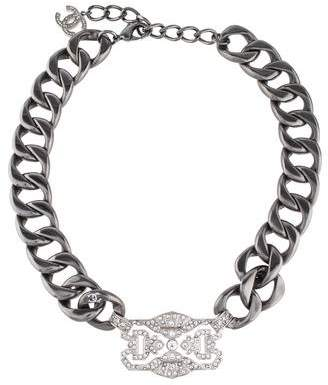 Chanel Crystal Collar Necklace
