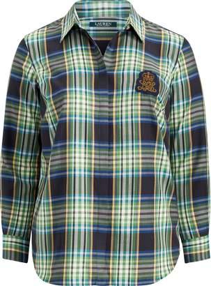 Ralph Lauren Patch Plaid Twill Shirt