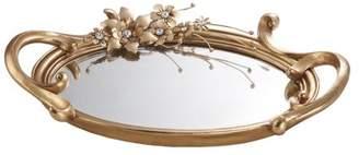Athena OK Lighting Bronze Decorative Platter