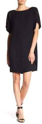 Anne Klein Flutter Sleeve Dress
