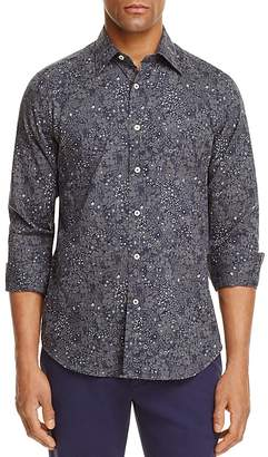 Canali Floral Regular Fit Button-Down Shirt $265 thestylecure.com