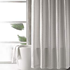 Hudson Park Collection Hudson Park Waffle Weave Shower Curtain - 100% Exclusive