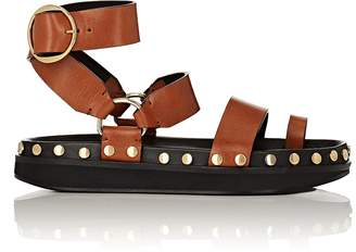 Isabel Marant Women's Nirvy Studded Leather Platform Sandals