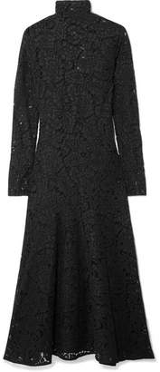 By Malene Birger Mulari Corded Lace Midi Dress - Black