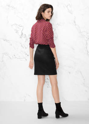 Double Zip Skirt