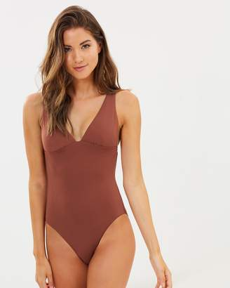 Seafolly Active V-Neck Maillot