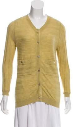 Chloé Cashmere Texture Cardigan