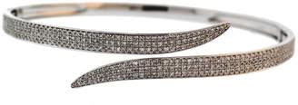 Diamond Select Cuts 18K 1.32 Ct. Tw. Diamond Cross-Eye Bangle
