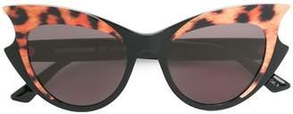 McQ Eyewear leopard cat eye sunglasses