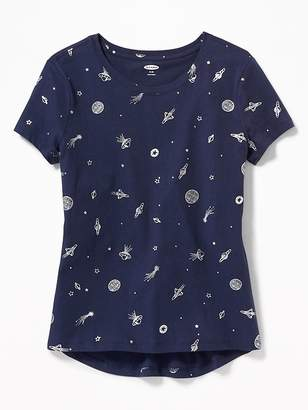 Old Navy Softest Scoop-Neck Tee for Girls