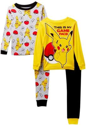 Pokemon Game Face Cotton PJs - Set of 2 (Little Boys & Big Boys)