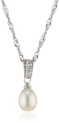 Amor Jewelry 465885 Women's Necklace - 925/1000 Sterling Silver with Freshwater Pearl - 3.15 g