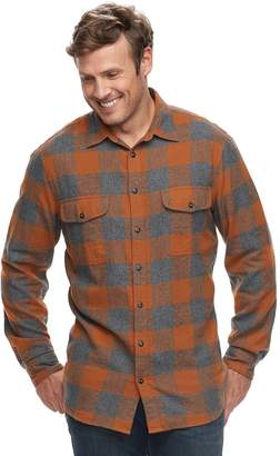 Sonoma Goods For Life Big & Tall SONOMA Goods for Life Slim-Fit Supersoft Flannel Button-Down Shirt