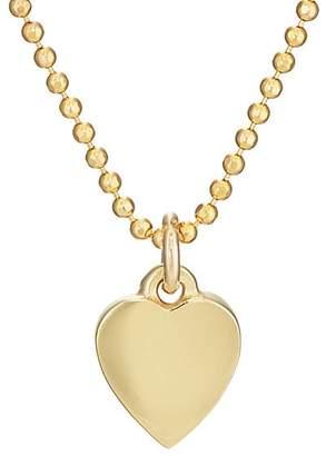 Jennifer Meyer Women's Heart Charm Necklace - Gold