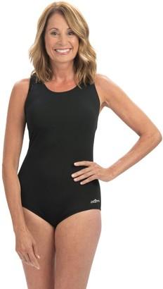 a740dbd632bf3 Dolfin Aquashape Solid Conservative Lap Swimsuit