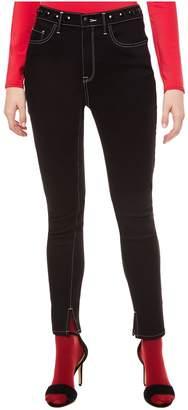 Juicy Couture Embellished Waist Black Skinny Jean