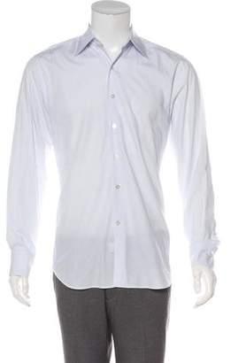 Canali Polka Dot Shirt