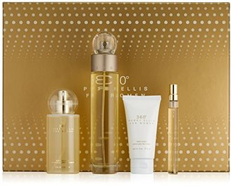 Perry Ellis Fragrances 4 Piece 360 for Women Gift Set, 3.4 Fluid Ounce $65 thestylecure.com