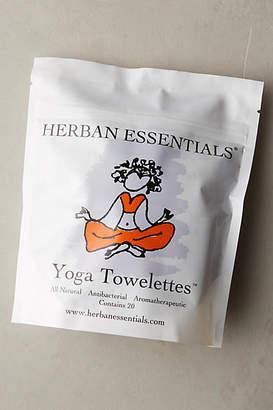 Herban Essentials Yoga Towelettes