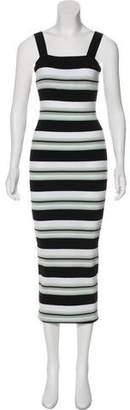 Ronny Kobo Sleeveless Knit Maxi Dress