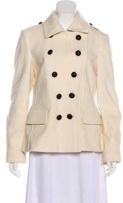 Burberry Virgin Wool Double-Breasted Casual Jacket