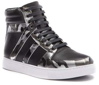 Badgley Mischka Sutherland Leather High-Top Sneaker