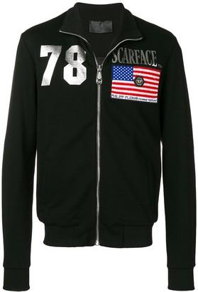 Philipp Plein Scarface track jacket