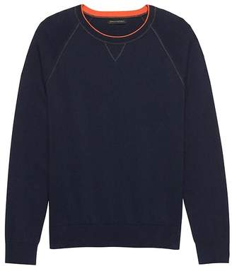 Banana Republic Cotton Cashmere Raglan Sweater