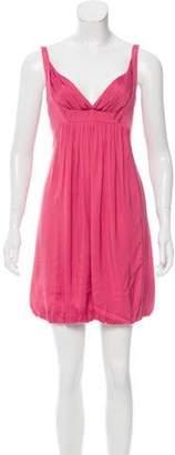 Narciso Rodriguez Gathered Mini Dress