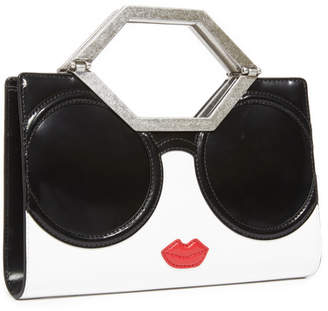 Alice + Olivia Tyler Stace Face Cut Out Clutch