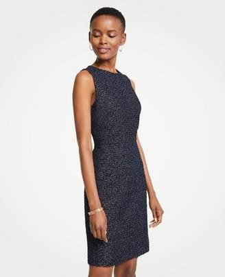 Ann Taylor Tall Tweed Sheath Dress