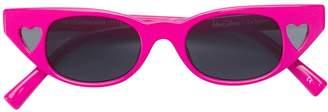 Le Specs x Adam Selman cat eye shaped sunglasses